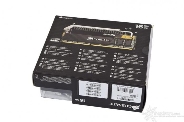 Corsair Dominator Platinum DDR4 3600MHz 16GB 1. Packaging & Bundle 2