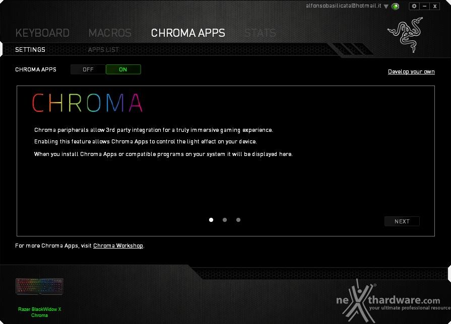 how to add razer chroma apps to razer synapse