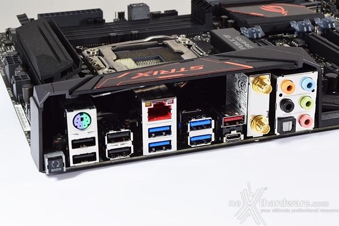 ASUS ROG STRIX X99 GAMING 6. Connettività 3