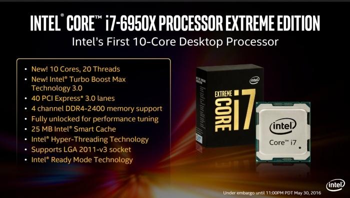 ASUS ROG STRIX X99 GAMING 1. Architettura  Intel Broadwell-E 3