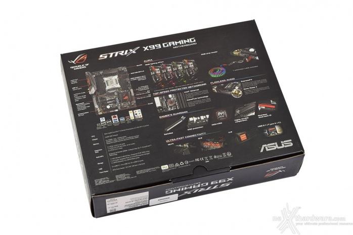 ASUS ROG STRIX X99 GAMING 3. Packaging & Bundle 2