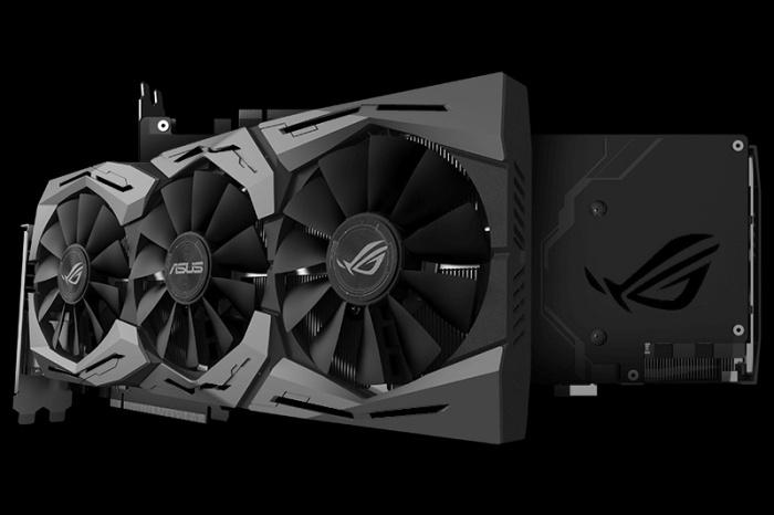 ASUS ROG STRIX GeForce GTX 1080 OC e GTX 1070 OC 1