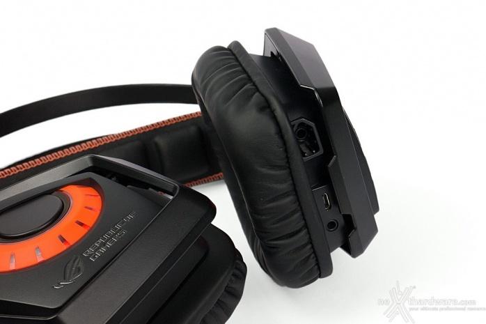 ASUS ROG STRIX Wireless 3. Microfono e connessioni 1