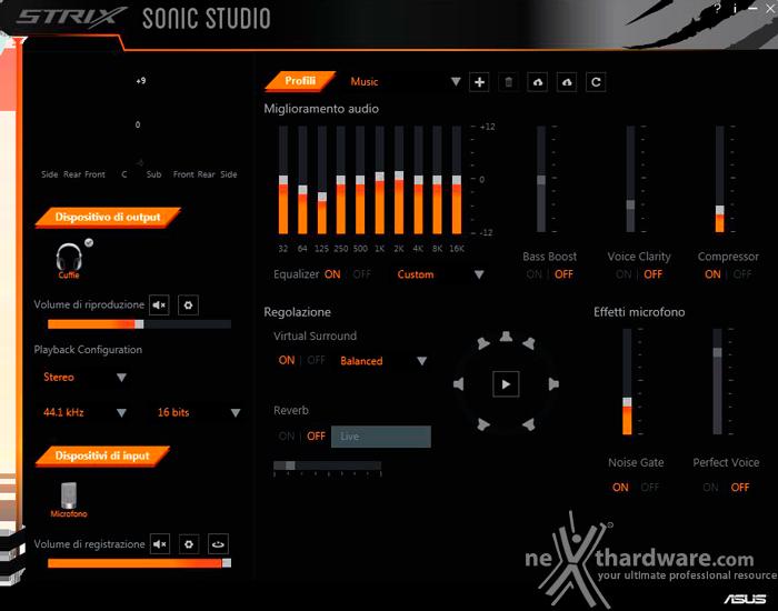 ASUS ROG STRIX Wireless 4. ASUS Sonic Studio 1