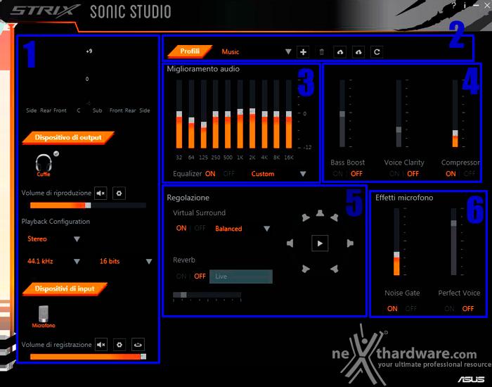 ASUS ROG STRIX Wireless 4. ASUS Sonic Studio 2