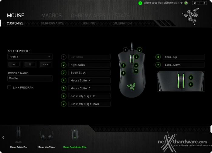 Razer DeathAdder Elite & Gigantus Black Edition 5. Razer Synapse 1