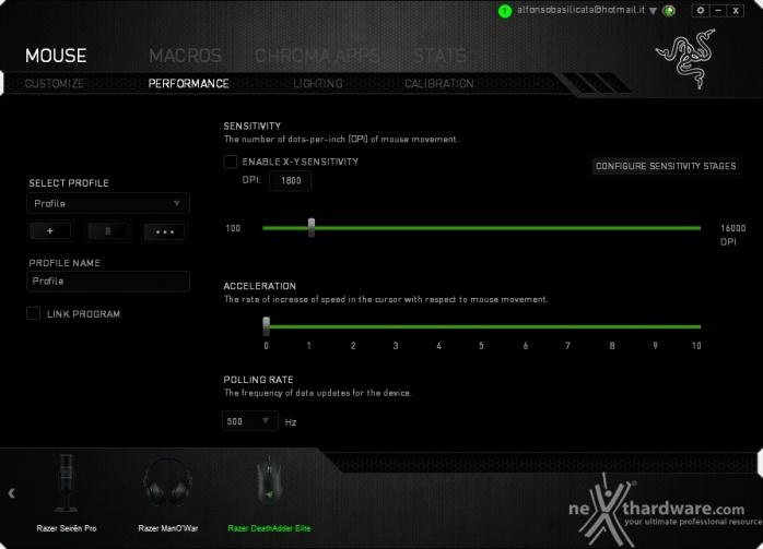 Razer DeathAdder Elite & Gigantus Black Edition 5. Razer Synapse 2