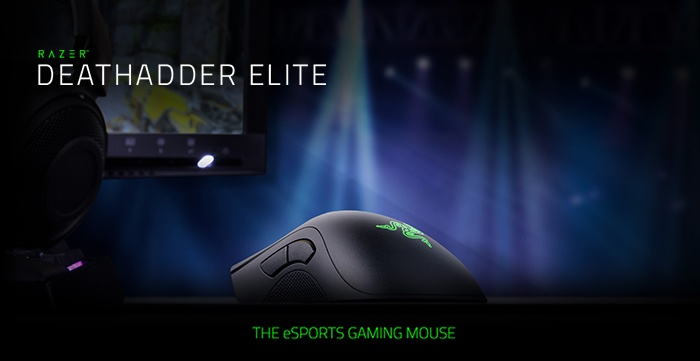 Razer DeathAdder Elite & Gigantus Black Edition 1