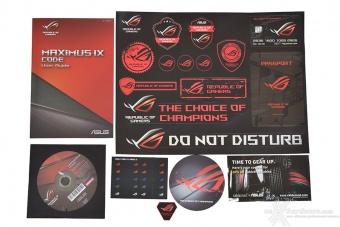 ASUS ROG MAXIMUS IX CODE 2. Packaging & Bundle 6
