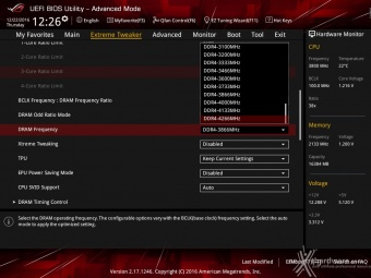ASUS ROG MAXIMUS IX CODE 8. UEFI BIOS - Extreme Tweaker 2
