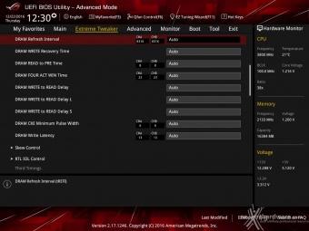 ASUS ROG MAXIMUS IX CODE 8. UEFI BIOS - Extreme Tweaker 15