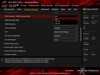 ASUS ROG MAXIMUS IX CODE 8. UEFI BIOS - Extreme Tweaker 4