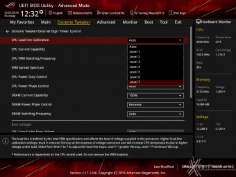 ASUS ROG MAXIMUS IX CODE 8. UEFI BIOS - Extreme Tweaker 8