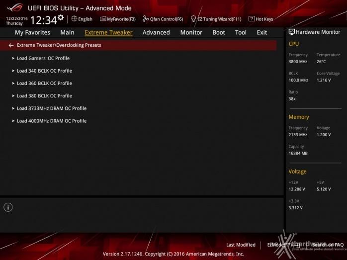 ASUS ROG MAXIMUS IX CODE 8. UEFI BIOS - Extreme Tweaker 7