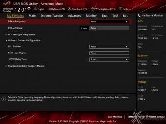 ASUS ROG MAXIMUS IX CODE 7. UEFI BIOS  -  Impostazioni generali 3