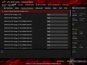 ASUS ROG MAXIMUS IX CODE 8. UEFI BIOS - Extreme Tweaker 6