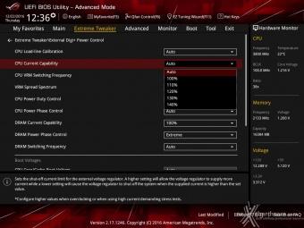 ASUS ROG MAXIMUS IX CODE 8. UEFI BIOS - Extreme Tweaker 9