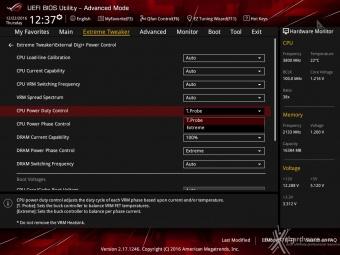 ASUS ROG MAXIMUS IX CODE 8. UEFI BIOS - Extreme Tweaker 10