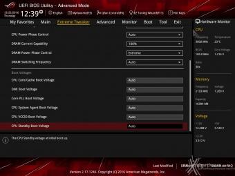 ASUS ROG MAXIMUS IX CODE 8. UEFI BIOS - Extreme Tweaker 11