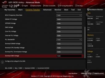 ASUS ROG MAXIMUS IX CODE 8. UEFI BIOS - Extreme Tweaker 13