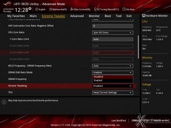 ASUS ROG MAXIMUS IX CODE 8. UEFI BIOS - Extreme Tweaker 3