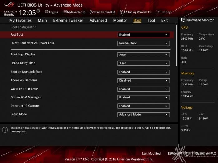 ASUS ROG MAXIMUS IX CODE 7. UEFI BIOS  -  Impostazioni generali 10
