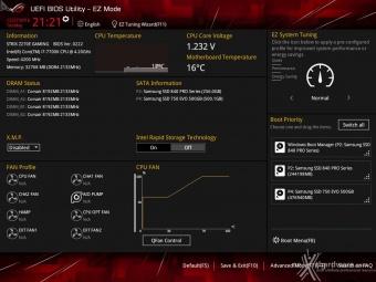 ASUS ROG STRIX Z270E GAMING 7. UEFI BIOS  -  Impostazioni generali 1
