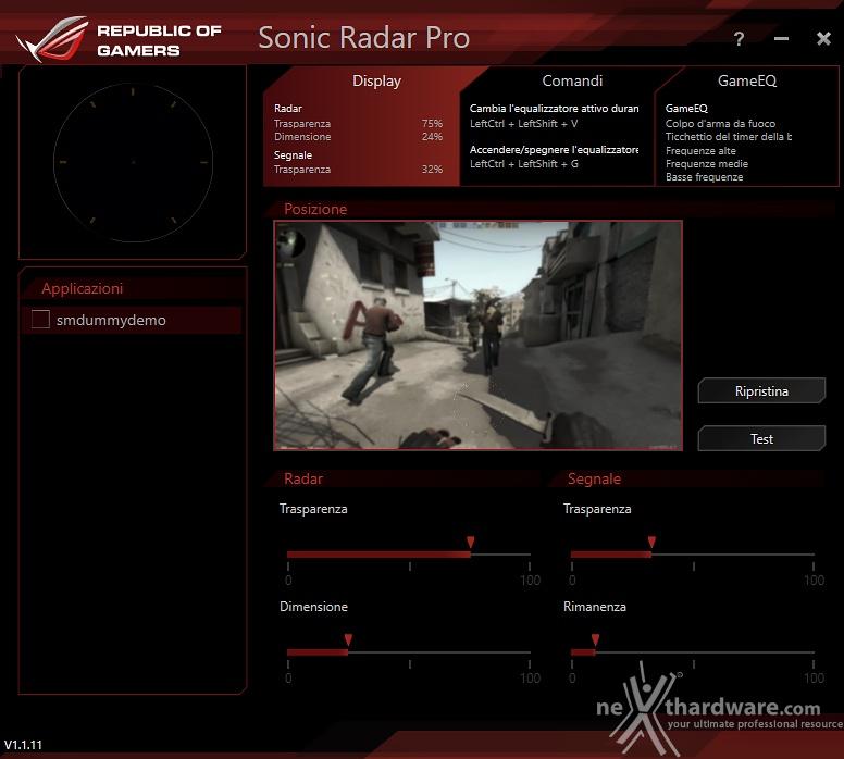 ASUS ROG Centurion | 5  ASUS Sonic Studio | Recensione