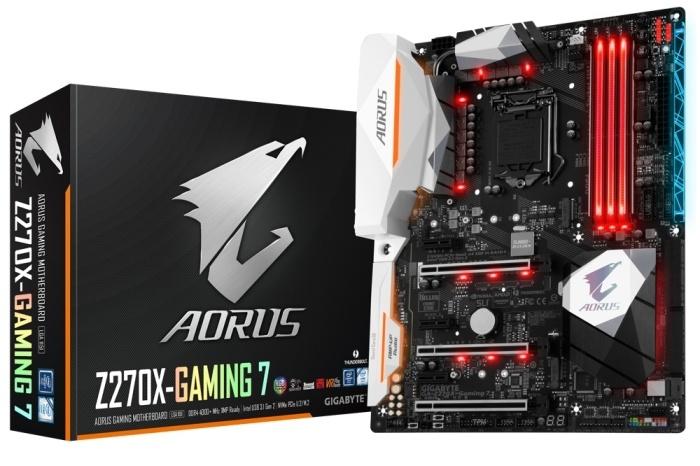 GIGABYTE AORUS GA-Z270X-Gaming 7 1