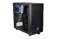 Pannello laterale in vetro temperato e certificazione Tt LCS per un case realizzato per il gaming.