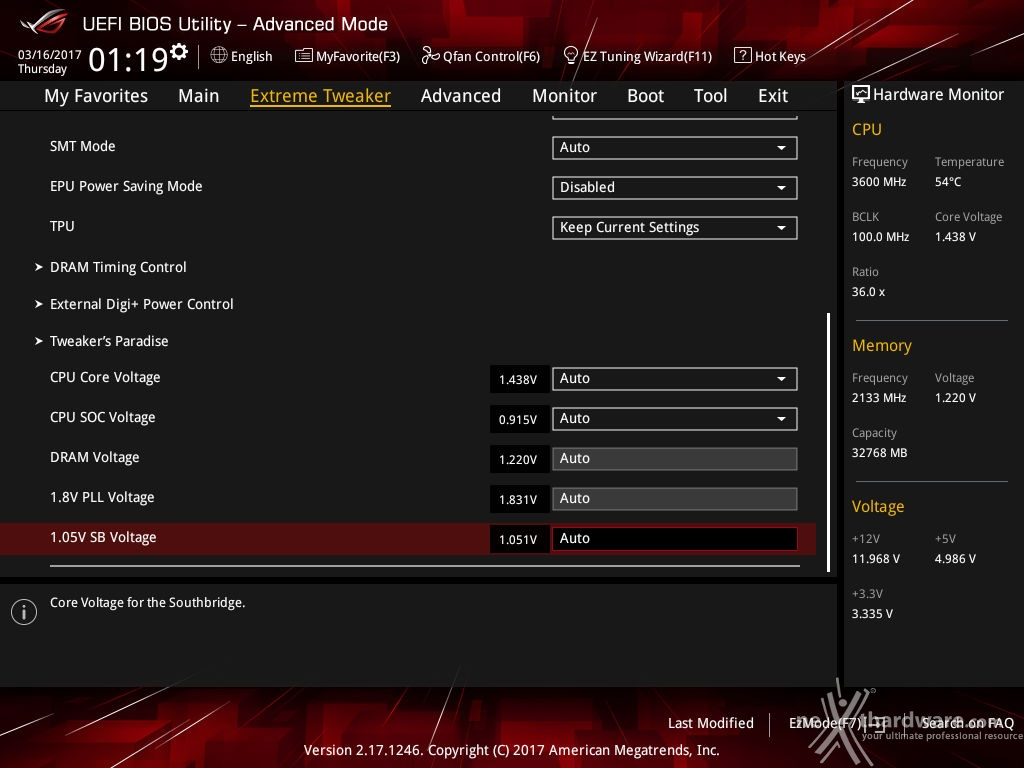 Ryzen 1700x with new mainboard bios showing -20C° temps
