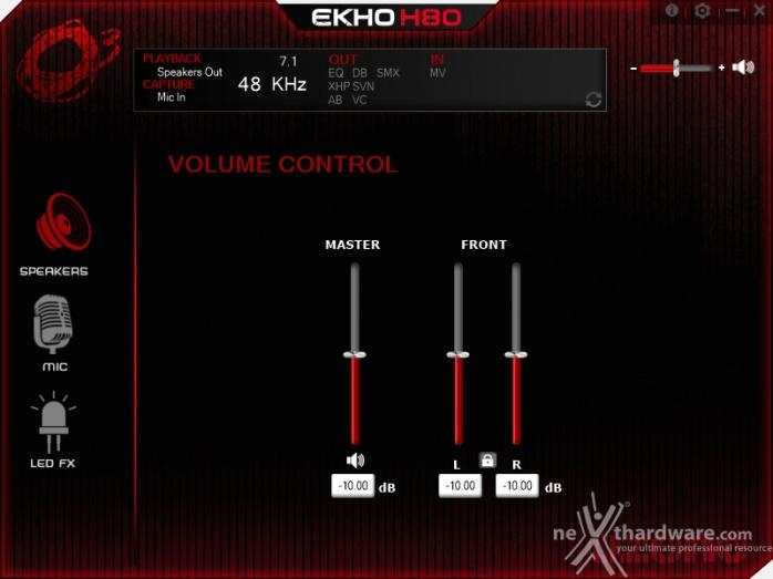 Ozone ekho h80 4 software di gestione recensione for Recensioni di software planimetrie