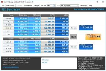 Patriot Hellfire M.2 NVMe 480GB 14. Anvil's Storage Utilities 1.1.0 4