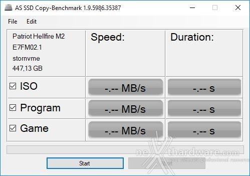 Patriot Hellfire M.2 NVMe 480GB 12. AS SSD Benchmark 2