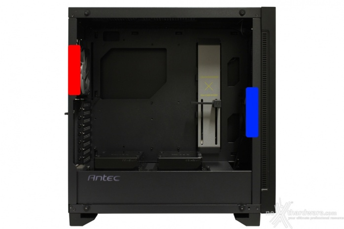 Antec P110 Luce 4. Raffreddamento 1