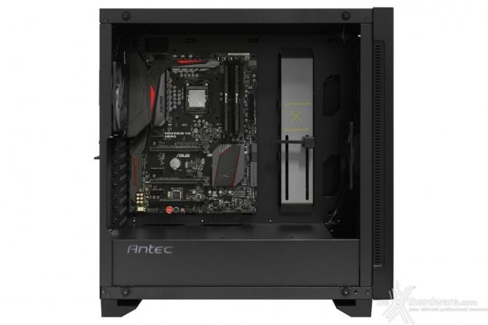 Antec P110 Luce 5. Installazione componenti 1
