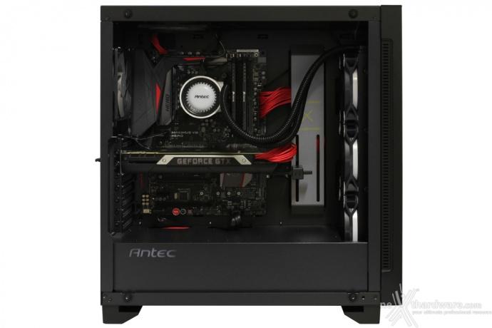 Antec P110 Luce 5. Installazione componenti 8
