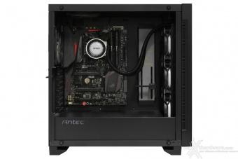 Antec P110 Luce 5. Installazione componenti 2