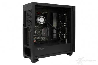 Antec P110 Luce 5. Installazione componenti 3