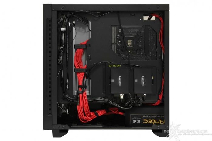 Antec P110 Luce 5. Installazione componenti 7