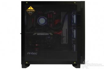 Antec P110 Luce 5. Installazione componenti 10