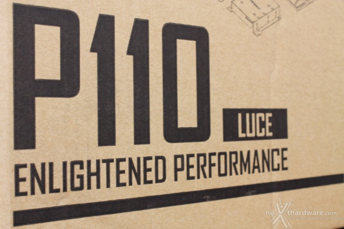 Antec P110 Luce 1. Packaging & Bundle 1