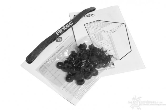 Antec P110 Luce 1. Packaging & Bundle 5