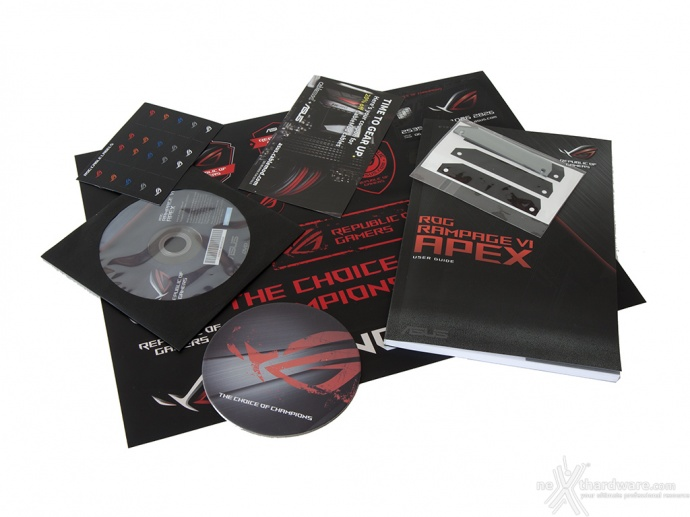 ASUS ROG RAMPAGE VI APEX 2. Packaging & Bundle 7