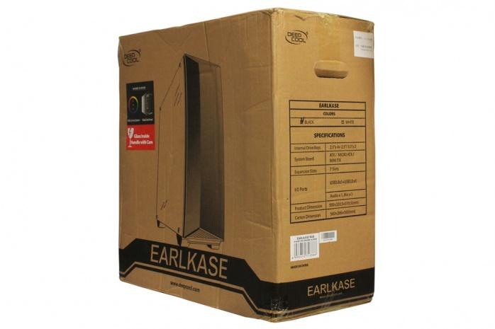 DEEPCOOL Earlkase RGB 1. Packaging & Bundle 1