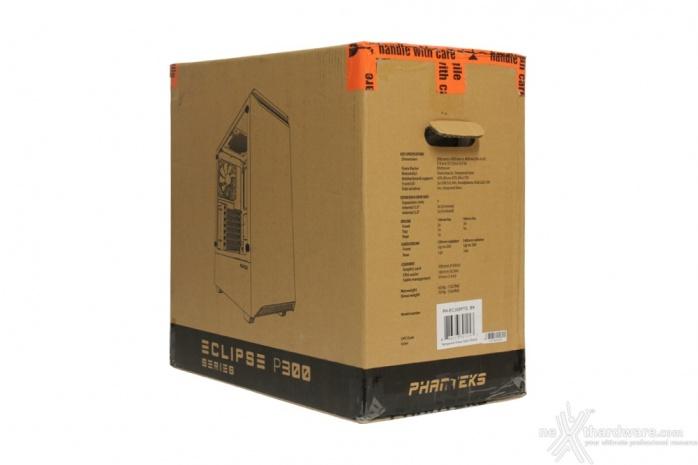 Phanteks Eclipse P300 1. Packaging & Bundle 2