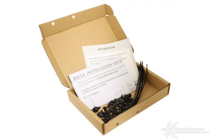 Phanteks Eclipse P300 1. Packaging & Bundle 4
