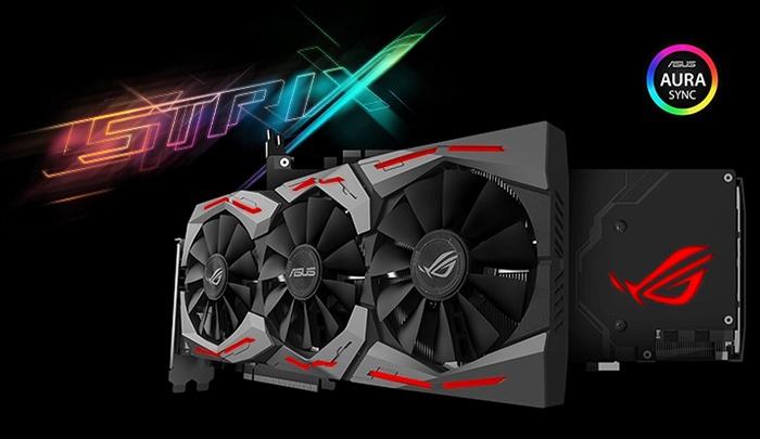 ASUS ROG STRIX GeForce GTX 1070 Ti 1