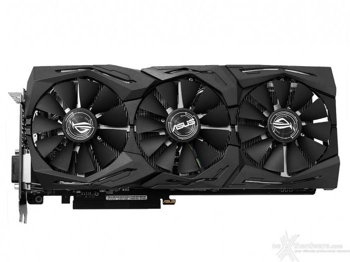 ASUS ROG STRIX GeForce GTX 1070 Ti 6. Vista da vicino - Parte prima 1