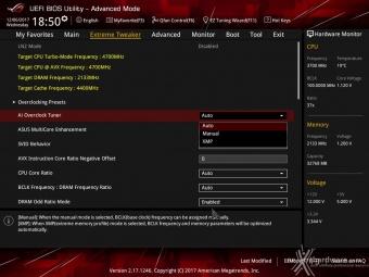 ASUS ROG MAXIMUS X FORMULA 8. UEFI BIOS - Extreme Tweaker 3